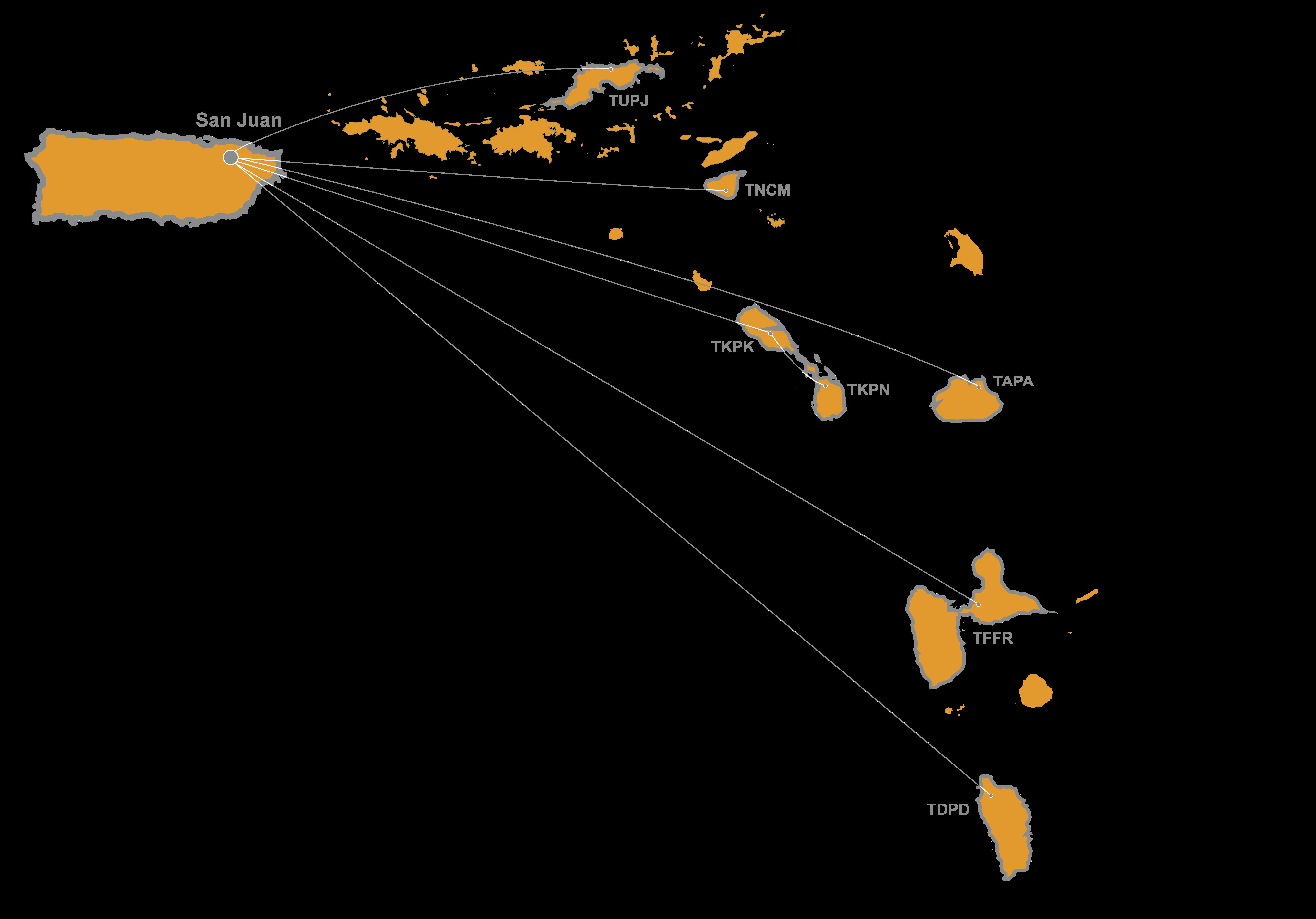WIG Caribbean Map PS Gray Text
